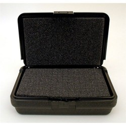 Platt Cases - 107 - Blow Molded Foam Filled Case 8-1/2 x 6 x 2-1/2 Black
