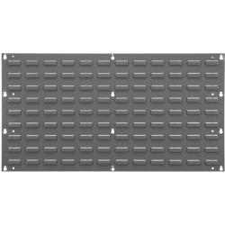Akro-Mils / Myers Industries - 30-636 - Akro-Mils 30-636 Steel Louvered Panel for PP Akrobins, Wall-Mount; 35.75' x 19' x 0.25'