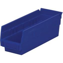 Akro-Mils / Myers Industries - 30-120 - 12 Shelf Bins, Blue, OD 11-5/8 L x 4-1/8 W, 24/ Carton