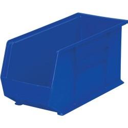 Akro-Mils / Myers Industries - 30-265 - Blue Parts Bin, OD 18 L x 8-1/8 W x 9 H, 6/Carton