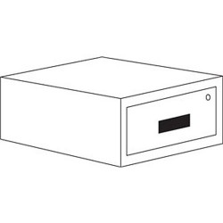 IAC Industries - QS-1050002-D - IAC Industries QS-1050002-D Accessory Steel Drawer, 6, 100 lb capacity