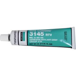 Dow Corning - 3145 RTV MIL-A-46146 - MIL-A-46146 Adhesive Sealant, Gray, 3 oz. Tube