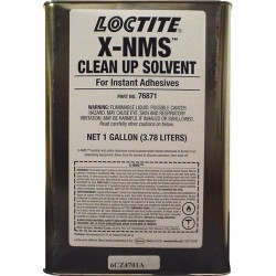 Loctite / Henkel - 76871 - 768 X-NMS Cleanup Solvent, Brush-Top Bottle, 1 Gallon