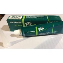 Dow Corning - 738 - Electrical Sealant, White, 3 oz. Tube