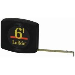 Lufkin - W616 - 1/4x6 Tape Rule Lufkin