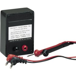 General Tools - PB1 - Purpose Point-to-Point Audible Continuity Tester with Leads and Alligator Clips