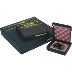 Protektive Pak / Desco - 37067 - ESD-Safe Shipper with Foam, 14-7/8 x 6-5/8 x 2 (ID)