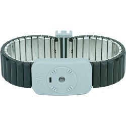 3M - 2381 - Dual Conductor Metal Wrist Band (Small) with 5 Cord