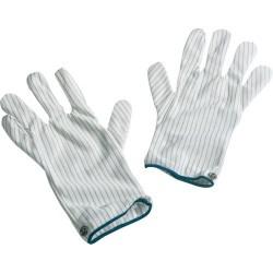 Desco - 68104 - Static Dissipating Gloves, Men's Medium, Pair