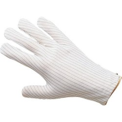 Desco - 68105 - Static Dissipative Gloves, Men's, Small, Pair