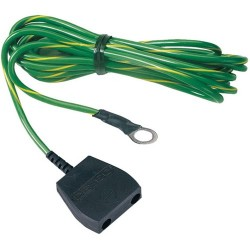 Desco - 9820 - Common Point Ground Cord, No Resistor, 10mm Socket with 10 Cord