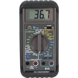 B&K Precision - 815 - Meter, Hand Held, Capacitance, Resistance, Diode, Transistor, LED, SCR, Battery, 20 mF