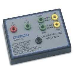 Desco - 07010 - Wrist Strap and Foot Grounder Calibration Unit, NIST STD