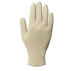 Clean ESD - LPF120-M - Cleanroom Latex Gloves, Power-Free, 12 Medium, 100/Bag (MOQ=10)