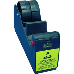 Botron - B1602 - ESD-Safe Tape Dispenser, Holds 2 Rolls 1 Wide with 3 Core