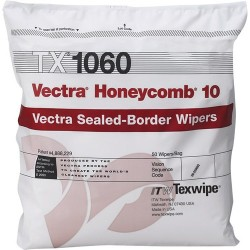 Texwipe - TX1060 - Vectra Honeycomb 10 Wipers, ISO Class 3-4 Cleanroom Environments (MOQ=10)