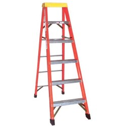 Other - F1A06 - 6 Fiberglass Step Ladder, Type 1A 300 Lb
