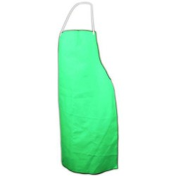 Other - 180-40 - Green Flame Resistant Bib Apron, 25 x 40