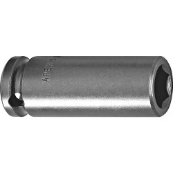 Cooper Tools / Apex - MB-8MM21 - MB-8mm21 1/4SQ DR SOCKET MAGNETIC, LONG, 6 POINT