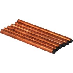 American Beauty - 10525 - 3/16 x 3 Carbon Electrode, 6/Pkg