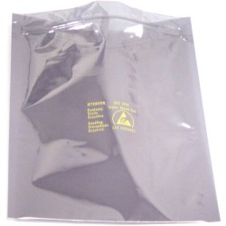 3m - 3001518 - Stat Shld Bags Zip Top 15x18 100/pk (moq=10)