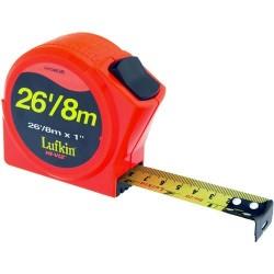 Lufkin - HV1048CME - Hi-Viz Orange Series 1000 Power Tape Measure, 1 x 26