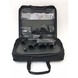 Platt Cases - 688ZT - Double Sized Black Zipper Case