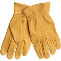 Klein Tools - 40021 - Klein 40021 Cowhide Work Gloves - Medium