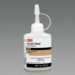 3M - 021200-21061 - Scotch-Weld Instant Adhesive, 1 oz Bottle (MOQ=12)