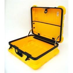 Platt Cases - 349TY-EMPTY - Yellow, Mil Style Tool Case, 9 Deep