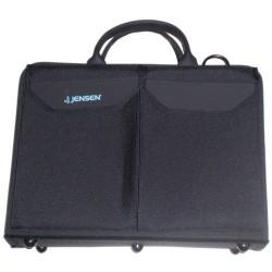 Jensen Tools - D1384JTBLR3 - Double-Sided Black Cordura+ Case with Pallets, 16-1/4x12x4-1/2