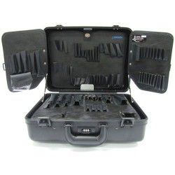 Jensen Tools - 191-133 - Black Deluxe Poly Case/Pallets only