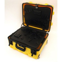 Platt Cases - 369THY-SGSH - Tool Case W/ Wheels and Telescoping Hande . 9 Deep, Yellow