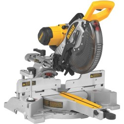 Dewalt - DW717 - 10 Sliding Compound Miter Saw, Double Bevel, 4000 No Load RPM, 15.0 Amps