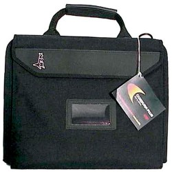 Jensen Tools - J4068JTBLR1 - Black Cordura Case 13-1/2x10x2-1/2