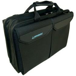 Jensen Tools - D1376JTRBL1 - Single Black Cordura+ Case with Pallets, 16-1/8x11-1/2x4