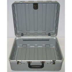 Jensen Tools - 181408-2G1149 - Rota Tough Cleanroom Case, Gray, 8 Deep