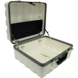 Jensen Tools - 1609-2W-044-1 - Super Tough Case, White. Empty 9-1/4