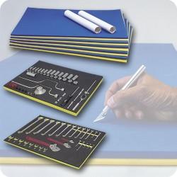 Jensen Tools - 277-002 (ILFC04316) - (ILFC04316) Foam Tool Organizer 5/pk.