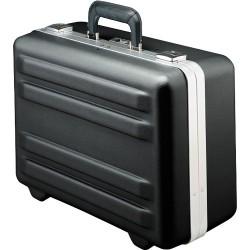 Jensen Tools - 05-7748 - Black Deluxe Poly Tool Case 17-3/4x12-3/4x5