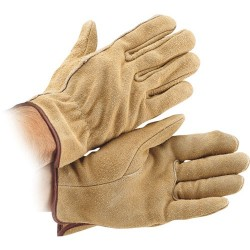 Klein Tools - 40003 - Small Leather Work Gloves