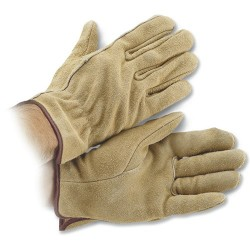 Klein Tools - 40004 - Medium Leather Work Gloves