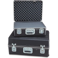 Platt Cases - 221609AH - ATA Case with Wheels and Telescoping Handle, 21-1/2 x 15-1/2 x 9 ID, 18 lbs.