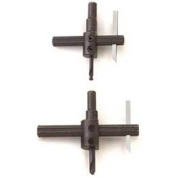 "General Tools - 5B - Circle Cutter 3/8"" Rdshank Adj. 1"" To 6"""