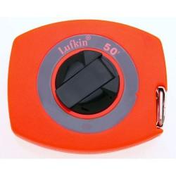 Lufkin - 50 - 50 ft. Steel SAE Long Tape Measure, High Visibility Orange