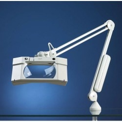 Luxo - 17845lg - Magnifier Waveplus Std45ingray Magnifier Waveplus Std45ingray (each)