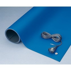 3M - 8811 - Static Disipative Bench-mat 2-layer Rubber 24 Inx48 In Blue 3m, Ea