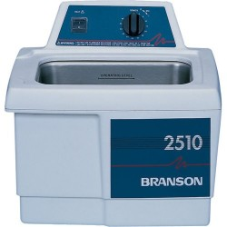 Branson Ultrasonics - M1800H - Ultrasonic Cleaners with Mechanical Timer Plus Heater, 1/2 Gallon