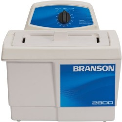 Branson Ultrasonics - M2800 - Ultrasonic Cleaner with Mechanical Timer without Heater, 3/4 Gallon