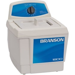 Branson Ultrasonics - M1800 - Ultrasonic Cleaners with Mechanical Timer without Heater, 1/2 Gallon